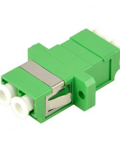 LC to LC-APC-Duplex-Single Mode-Adaptor
