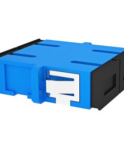 SC to SC-UPC-Duplex-Single Mode-Adaptor-